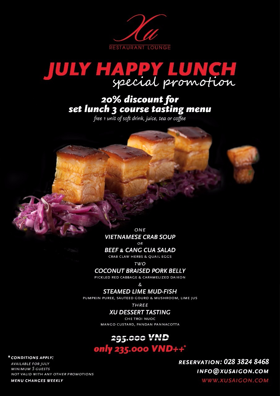 July business Lunch